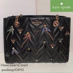 Kate Spade Briar Lane Meena Dragonfly Quilted Bag